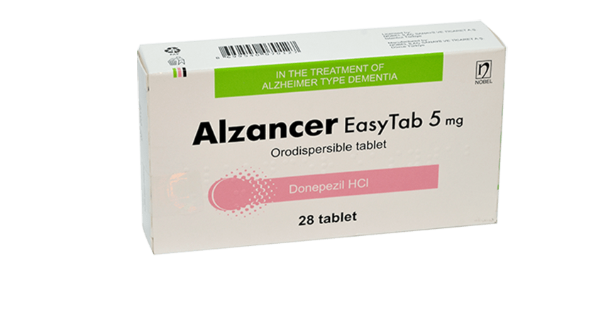 Alzancer EasyTab 5mg 28 Orodispersible Tablets