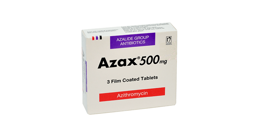 Azax 500mg 3 Film Coated Tablets