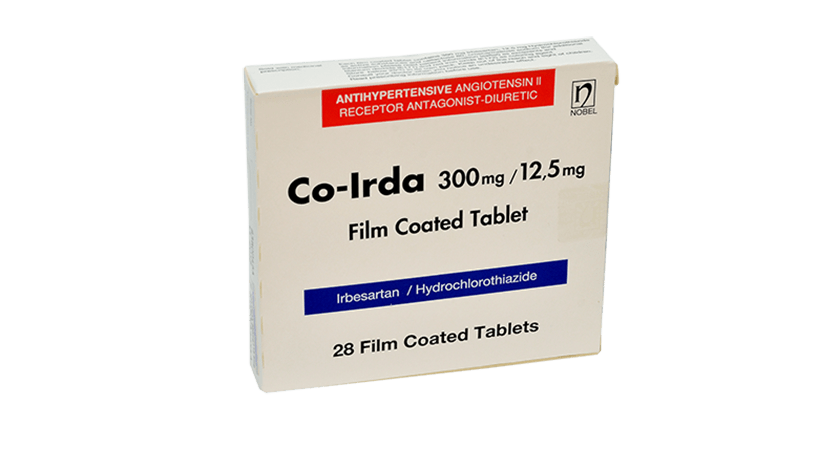 Co-Irda 300mg/12,5mg 28 Film Coated Tablets