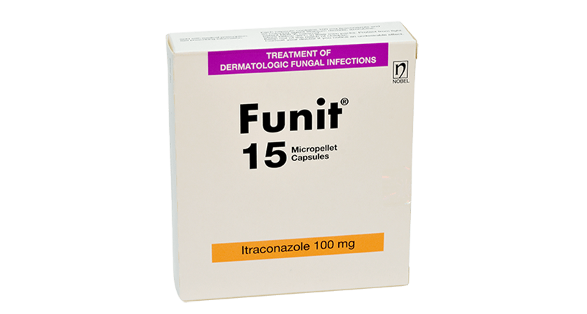 Funit 100mg 15 Micropellet Capsules