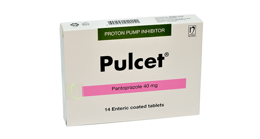 Pulcet 40mg 14,28 Enteric Coated Tablets